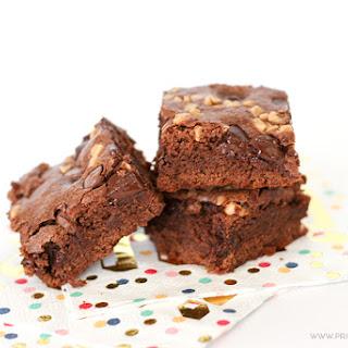 Salted Caramel Toffee Brownies
