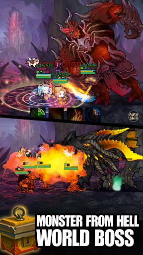 Infinity Heroes : Idle RPG fond d'écran 2