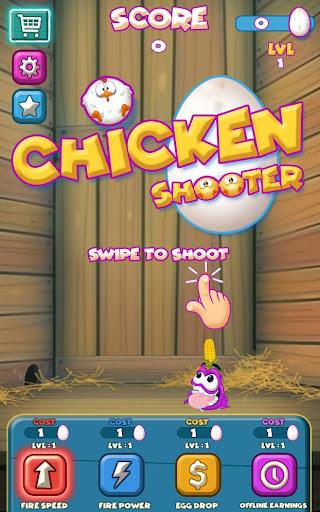 Chicken Shooter 2D  captures d'écran 1