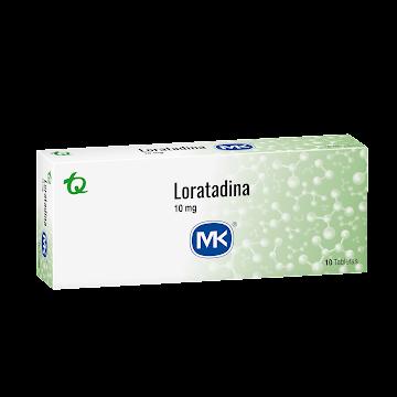 Loratadina MK 10mg   Tableta Caja x10Tab.