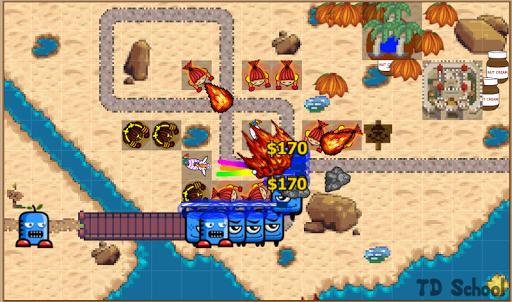Tower Defense School - Online TD Battles Strategy apktram screenshots 5