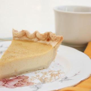 Buttermilk Maple Pie