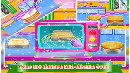 Cosmetic Box Cake Cooking image | 5