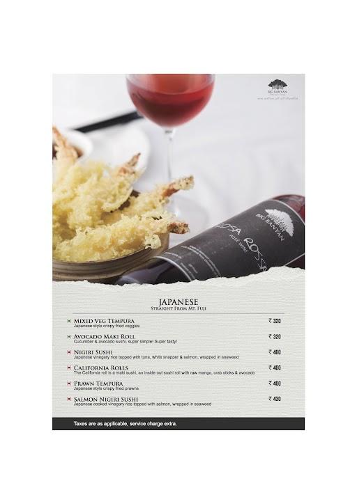 The Fat Chef menu 6