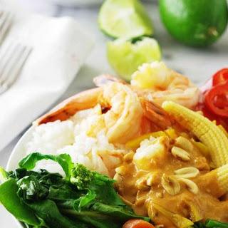 Thai Spicy Shrimp Grain Bowl