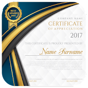 certificate maker app pro app report on mobile action