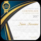 Certificate Maker app pro Mod