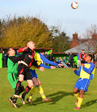 Photo: 16/11/13 v Linby Colliery Welfare (Central Midlands League South Division) 1-1 - contributed by Andy Gallon