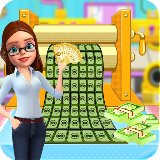 Bank Money Note Factory: Currency Maker Simulator (game)