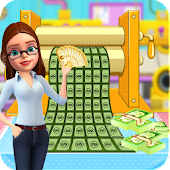 Bank Money Note Factory: Currency Maker Simulator