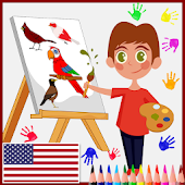 Kids Coloring Book: Learn Kids How to Paint & Draw
