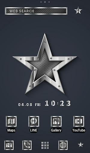 壁纸·图标 金属之星