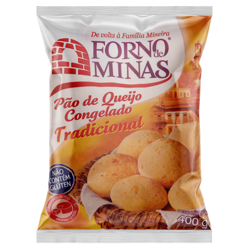Cheese Bread Forno de Minas 400g