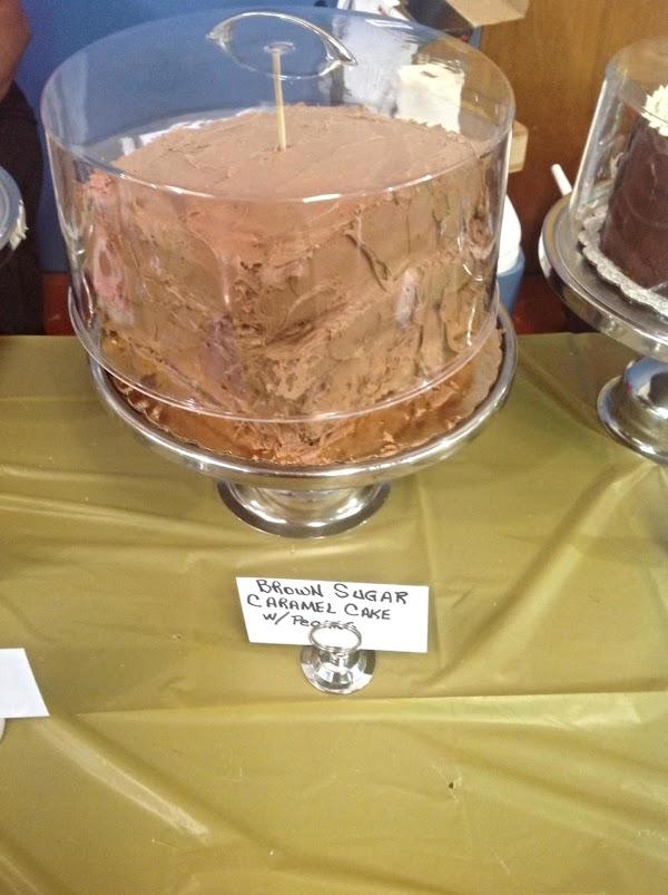 Caramel Pecan Layer Cake Recipe