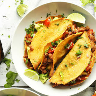 Crispy Baked Tacos with Pineapple Salsa.