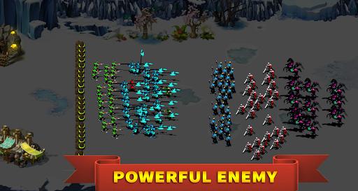 StickMan Defense War - Empire Hero & Tower Defense apktram screenshots 5