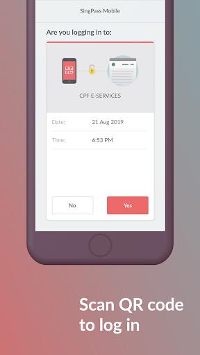 SingPass Mobile screenshot 2