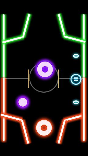 Finger Glow Hockey 1.4.0 screenshots 1