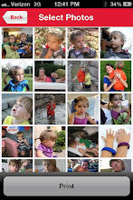 Photo: Cuteness overload! I want to print them all. The app automatically brought up my Facebook photos.