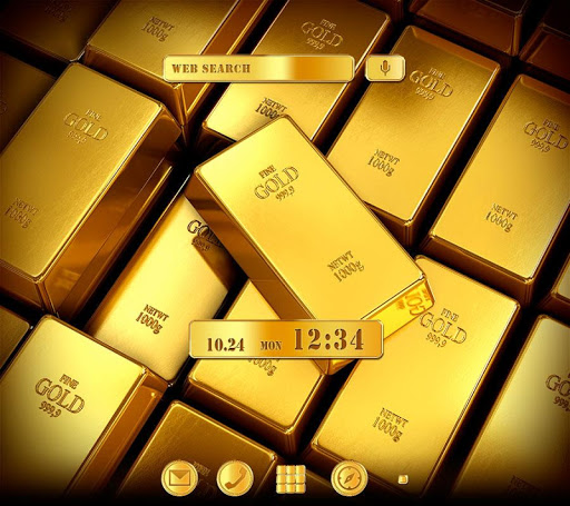 免費下載個人化APP|Gold Ingot+HOME無料きせかえ app開箱文|APP開箱王