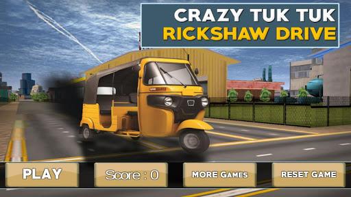 Crazy Tuk Tuk Rickshaw Drive