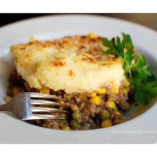 Beef Cottage Pie.