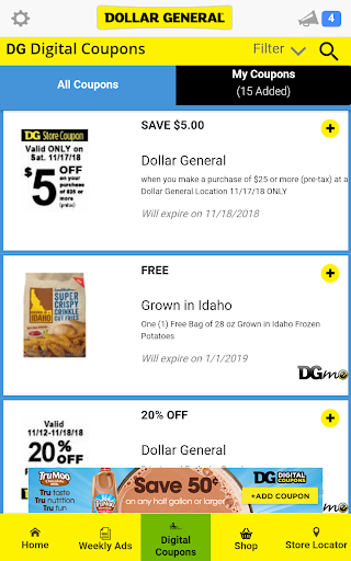 Download Dollar General Digital Coupons Ads And More 4 6 3 Apk For Android Appvn Android