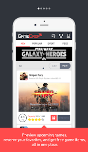 GameDrop: Premier Game Hub- screenshot thumbnail