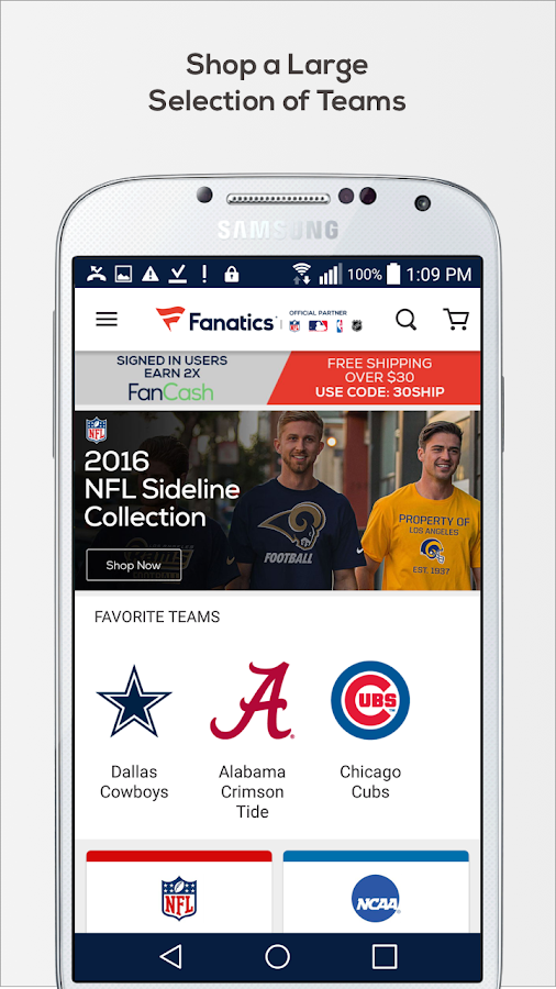 Fanatics- screenshot