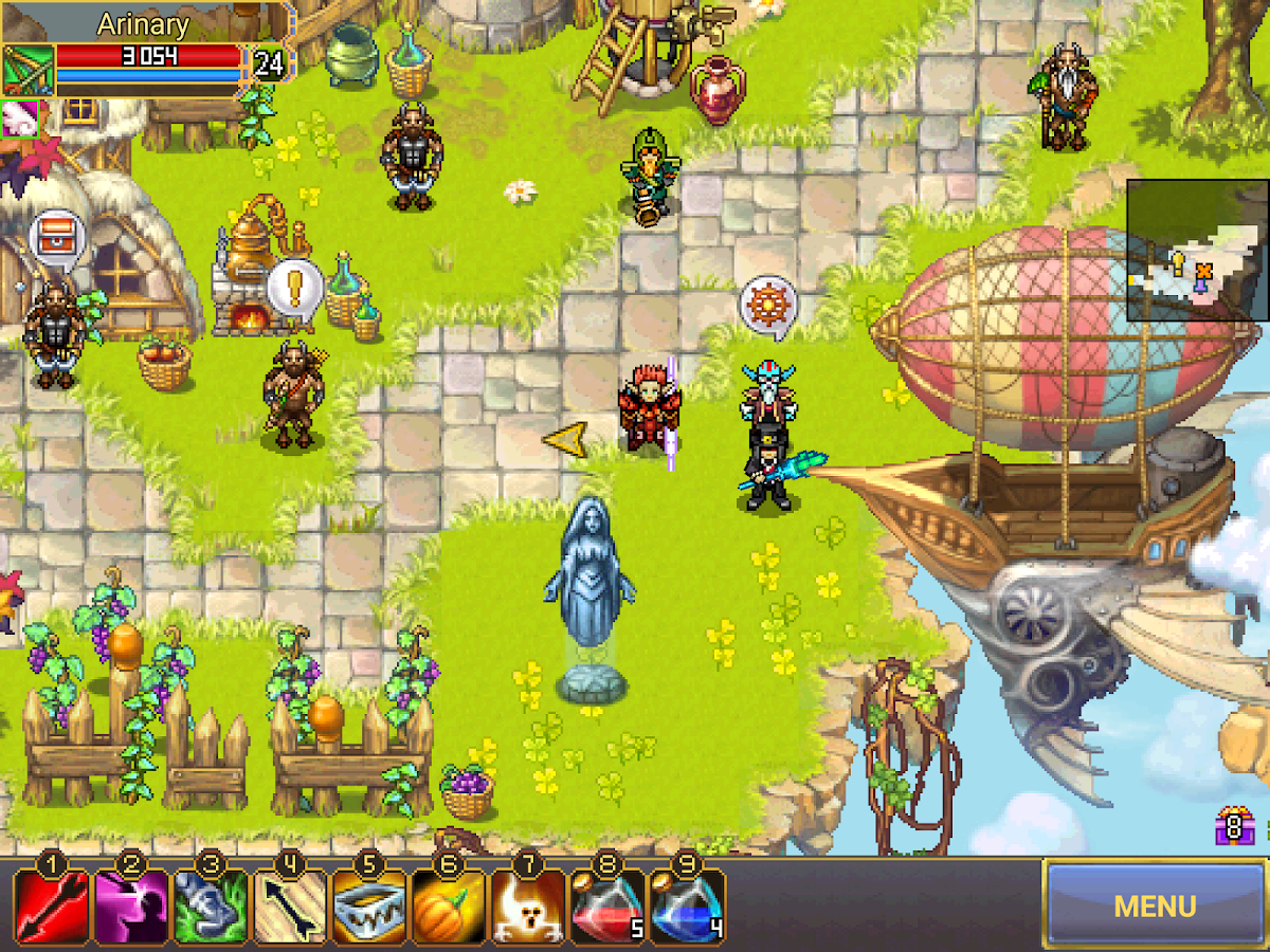 Warspear Online (MMORPG, RPG, MMO)- screenshot