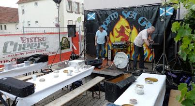 Photo: Aufbau und Soundcheck