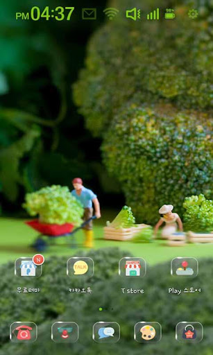 Miniature People Farming Theme
