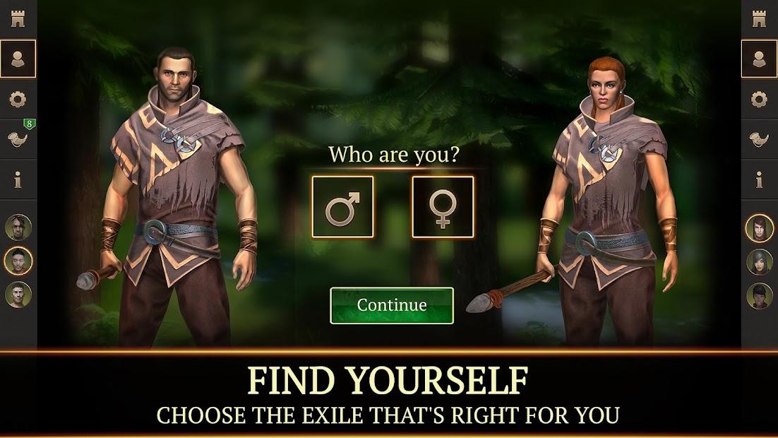 Stormfall: Saga of Survival Android App Screenshot