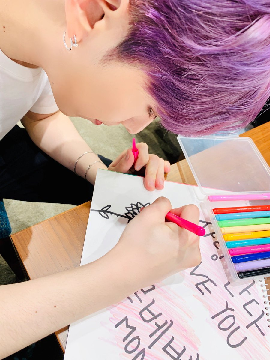 MONSTA X_DRAWING_KIHYUN_MAKING