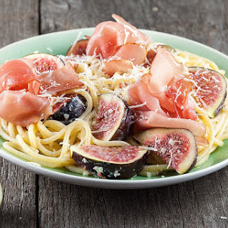 Figs and Ham Pasta Recipe