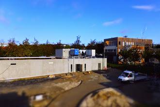 Photo: Vue générale #datacenter #reims (Visite de chantier 16.10.2014)
