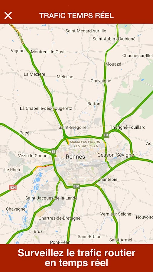 Rennes Live- screenshot