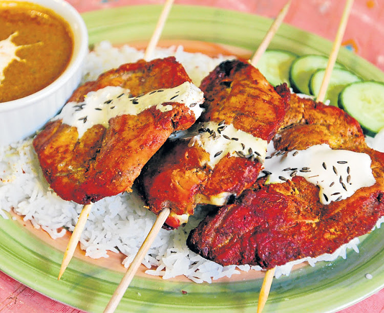 Chicken tikka is the author's favourite dish.
