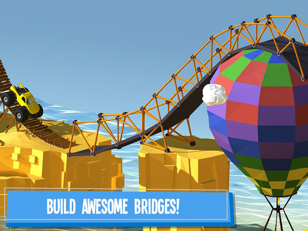 Bridge Building Game App