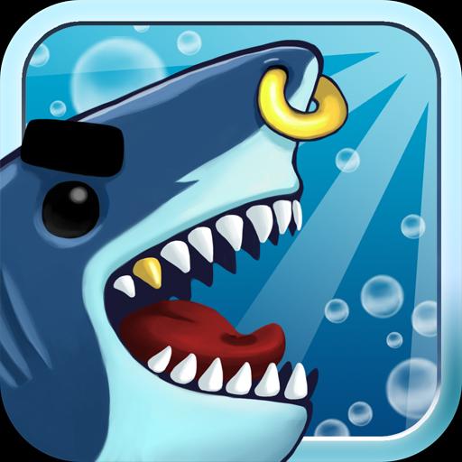 Angry Shark Evolution - fun craft cash tap clicker