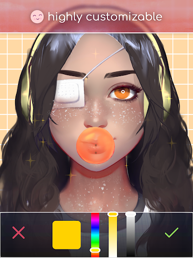 Live Portrait Maker: Girls 2.32 screenshots 8