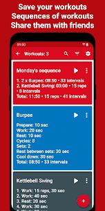 Tabata Timer Apk : Interval Timer Workout Timer HIIT 4