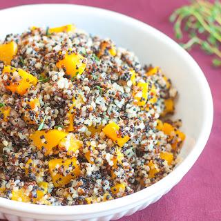 Butternut Squash Quinoa Pilaf