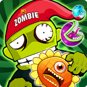 Plants Match : Zombie Hero
