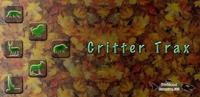 Critter trax wild animal tra android app on appbrain for Fish head app