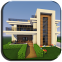 New Modern House For Minecraft - Free Offline icon