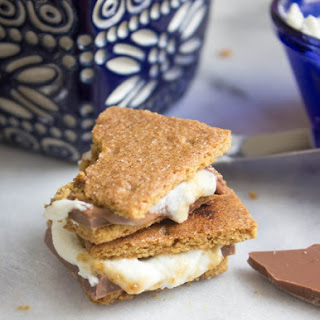 Bruléed Goat Cheese S'mores