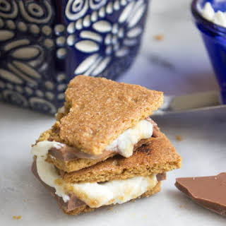 Bruléed Goat Cheese S'mores.