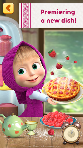 Masha and Bear: Cooking Dash  screenshots 1