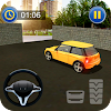 Drive Modern Car Street Parking Simulation